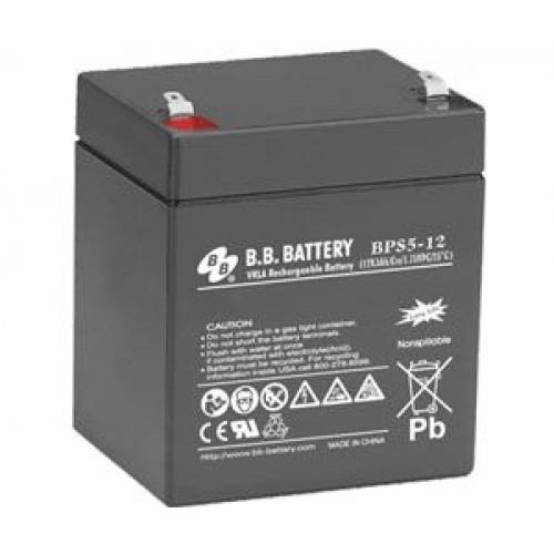 Аккумулятор B.B.Bаttery BPS 5-12
