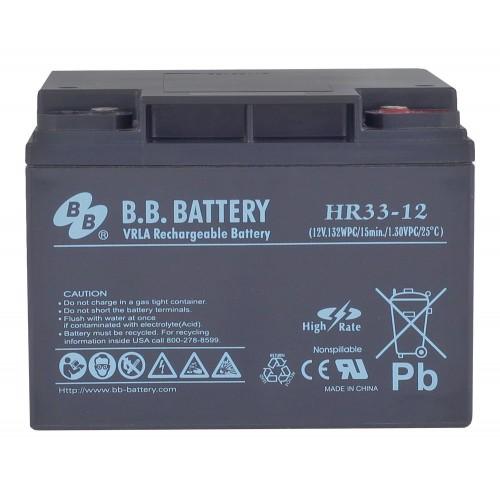 Аккумулятор B.B.Bаttery HR 33-12