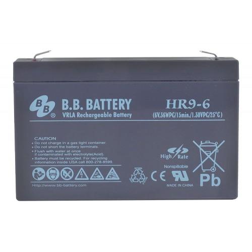 Аккумулятор B.B.Bаttery HR 9-6