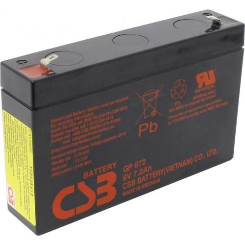Аккумулятор CSB GP 672