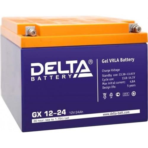 Аккумулятор Delta GX 12-24