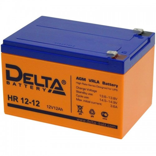 Аккумулятор Delta HR 12-12