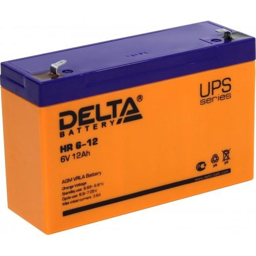 Аккумулятор Delta HR 6-12