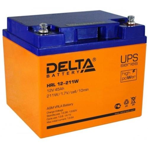 Аккумулятор Delta HRL 12-211 W