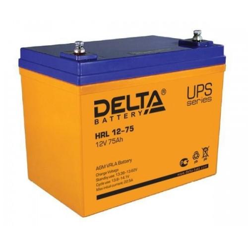 Аккумулятор Delta HRL 12-75