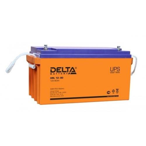Аккумулятор Delta HRL 12-80