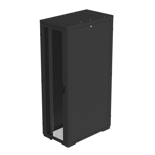 Eaton 42U (REC Series) rack enclosure (RCA42610SPBE) with BladeBar (103007571-5591) and Bottom entry Wireway (103007569-5591) pre configured