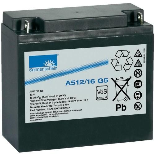 Аккумулятор Sonnenschein A512/16 G5