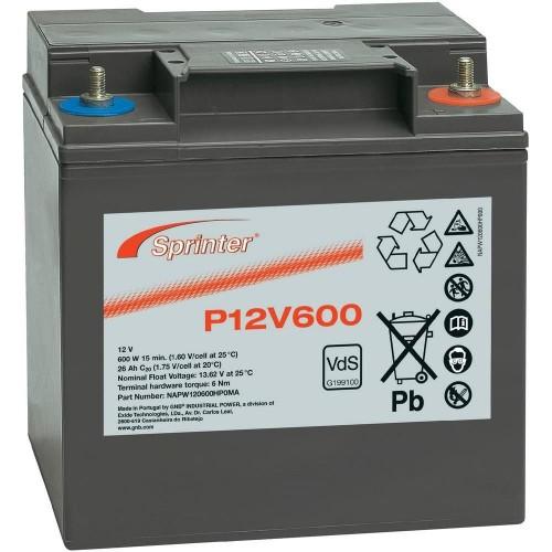 Аккумулятор Sprinter P12V600