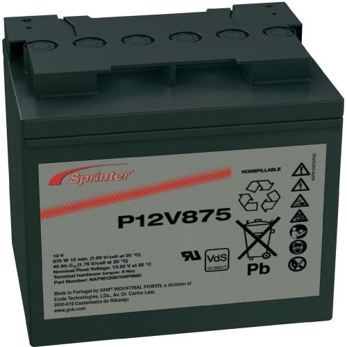 Аккумулятор Sprinter P12V875