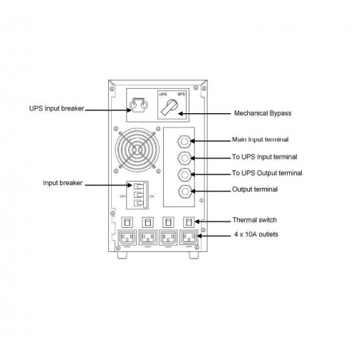 Eaton Transformer option for 5000-6000VA